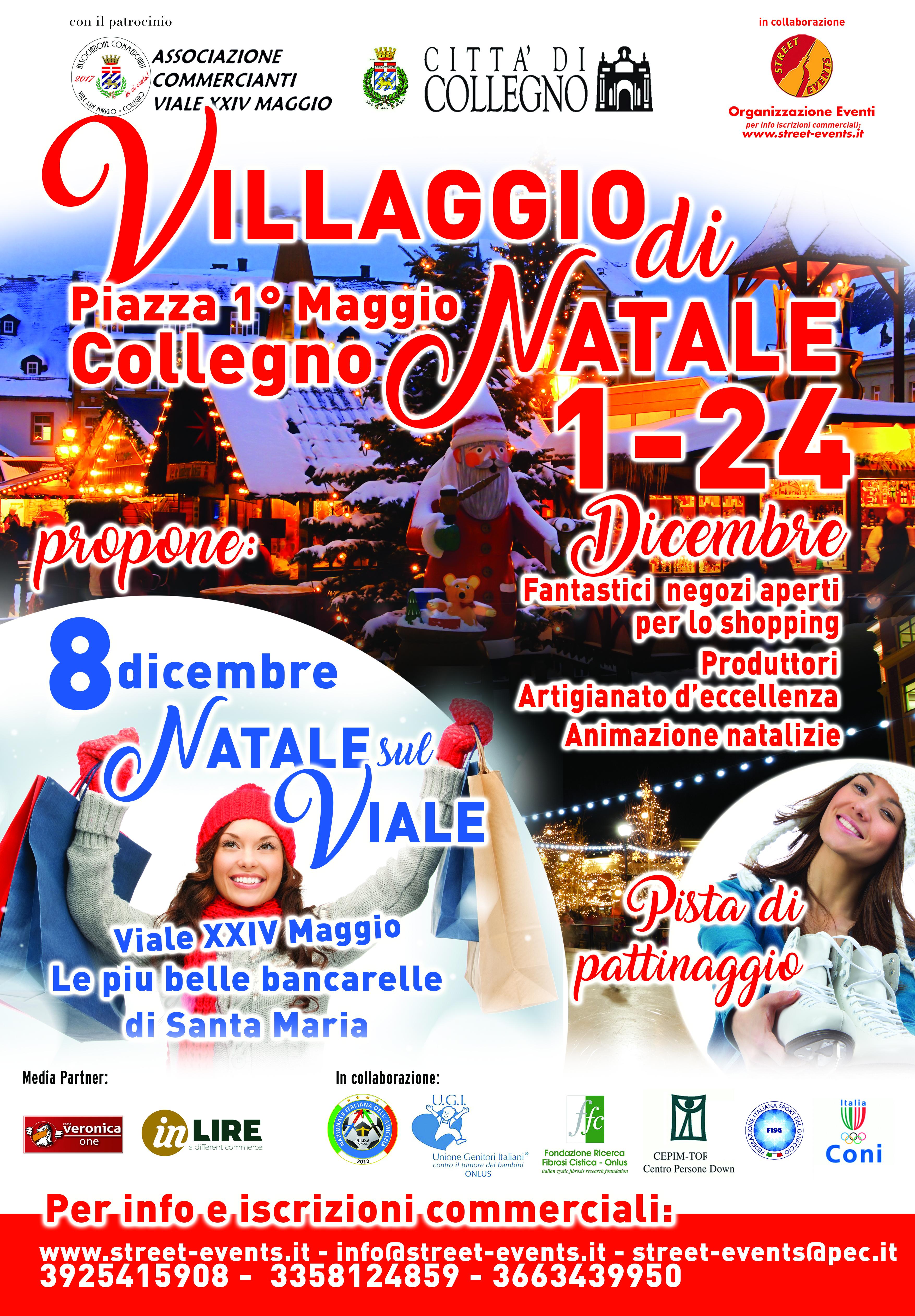 In-Lire Media-Partner dei mercatini di Natale di Collegno
